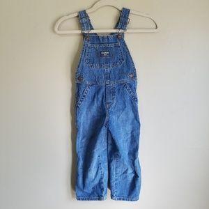 OshKosh B'Gosh 3T Blue Jean Overalls